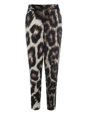 Dea Kudibal luna silk trousers - panther