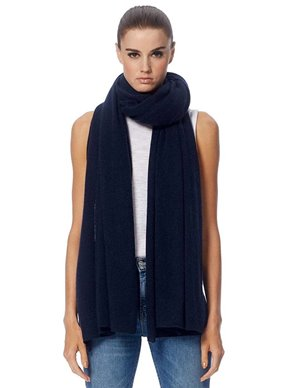 360 Cashmere linus scarf - navy