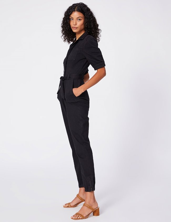 Paige mayslie jumpsuit - washed black side
