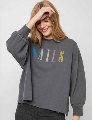 Rails rails signature sweatshirt - vintage black side