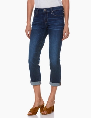 brigitte ankle boyfriend jeans - enchant blue