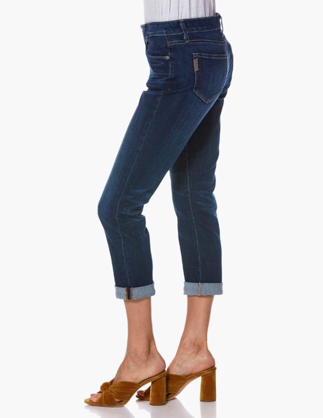 brigitte ankle boyfriend jeans - enchant blue side