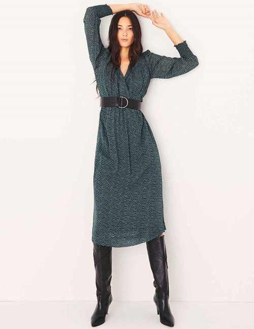 ba&sh lucy dress - green