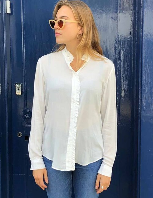 Hartford capra blouse - snow