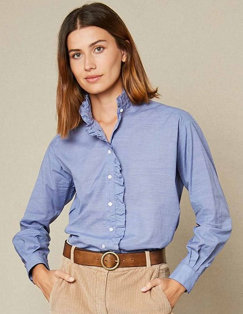 Hartford caprice shirt - dark blue