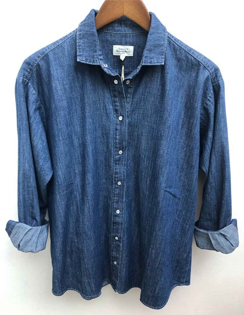 Hartford charlot shirt - denim