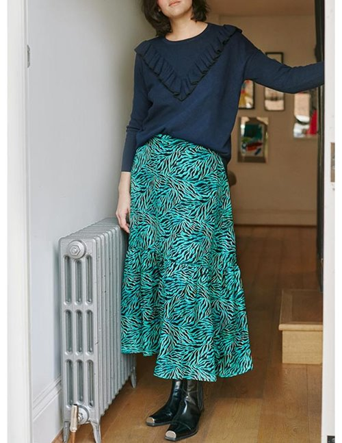 Pyrus lia skirt - geo animal